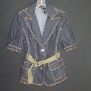 Bisou Bisou, jean jacket top